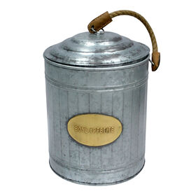 Picture of Bone Appetite Galvanized Canister with Rope
