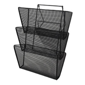 Picture of MTL MESH TIERWALL MNT FILE-BLK