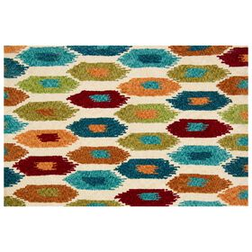Picture of A336 BOHO SHAG MULTI 8X10
