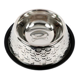 Picture of Stainless Steel Embossed Dog Bowl