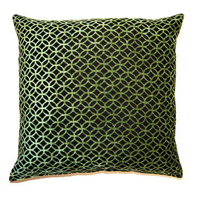 Picture of Revolution Green Pillow 23x23-in