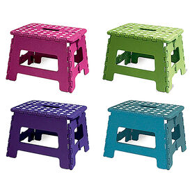 Picture of MD FOLD STEP STOOL BRIGHT