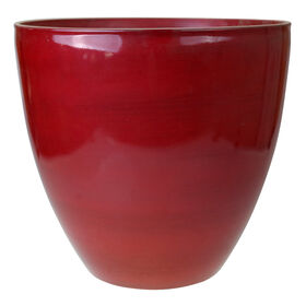Picture of 15IN CHROME RED HDR EGG POT