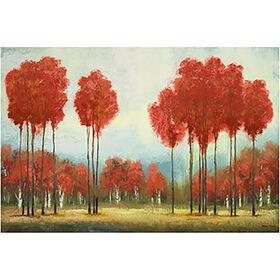 Picture of 24 X 36-in Autumn Reds Studio Art
