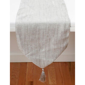Picture of Silver Bermuda Table Runner, 13 x 72-in.