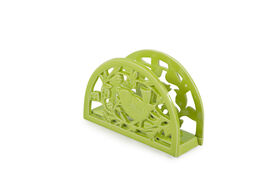 Picture of Lime Green Bird Song Cast Iron Napkin Holder