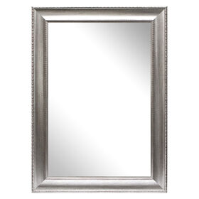 Picture of 24 X 36-in Silver Beveled Anne Mirror