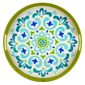 Picture of Spanish Tile Melamine Tray