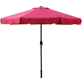 Picture of 9ft. Crank Tilt Umbrella, Red