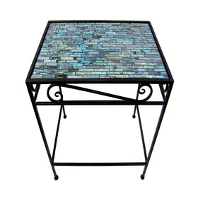 Picture of Teal Mosaic Rectangle Table, Medium (Additional Sizes Sold Separately)