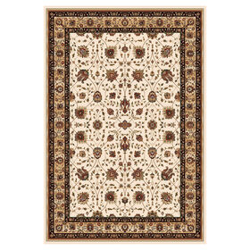 Picture of Ivory Kashan Rug 5 ft
