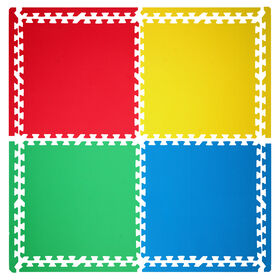 Picture of Multi Rubber Tiles- 4 Pack