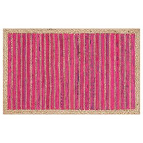 Picture of GAVIN JUTE/CHINDI PINK 27X45