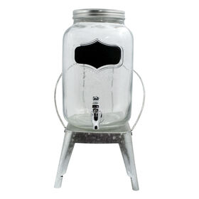 Picture of Yorkshire Chalkboard Drink Dispenser with Galvanized Base, 2Gal.