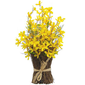Picture of Yellow Forsythia Stack with Sticks