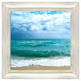 Picture of 18 X 18-in Teal Surf Studio Art