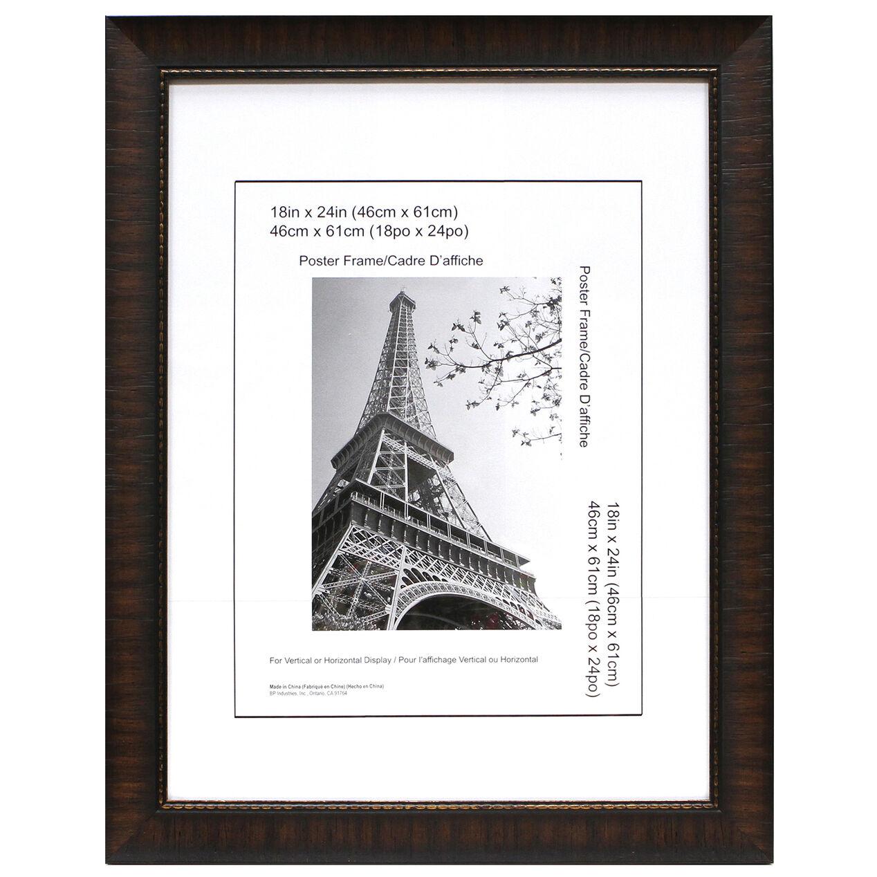18 x 24 in espresso maria poster frame