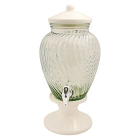 Picture of Obsession Glass Drink Dispenser with Ceramic Base