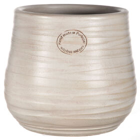 Picture of Ribbed Small-Top Oyster Planter 9-in