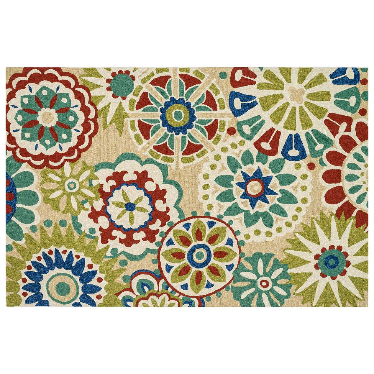 E106 multicolor suzani rug at home for Home inspired by india rug