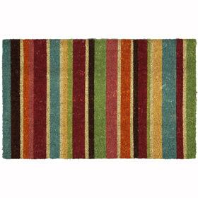 Picture of Lollipop Stripe Coir Doormat 18 X 30-in