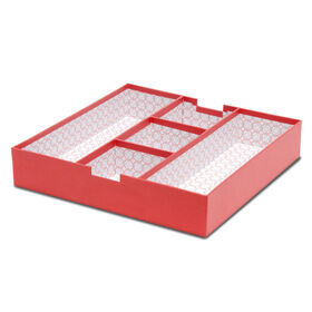Picture of Full Section Tray Bin - Coral Paper