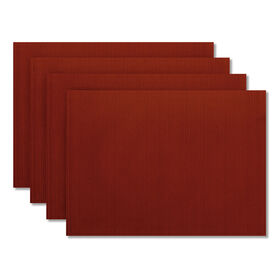 Picture of Madison Placemat, Red, Set of 4
