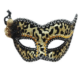 Picture of Tan and Black Cheetah Mask