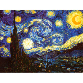 Picture of 24 X 36-in Starry Night Canvas