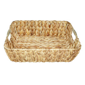 Picture of Woven Tray with Handle 14-in