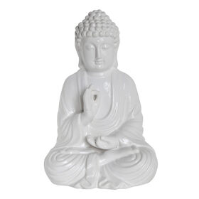 Picture of White Sitting Buddha