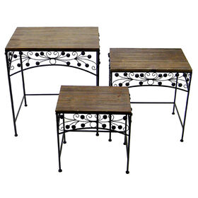 Picture of Metal Nested Rectangular Accent Table - 16 in. (sold separately)