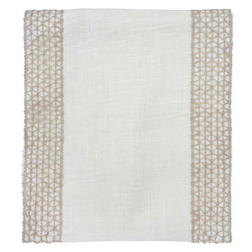Burlap Braid Table Runner