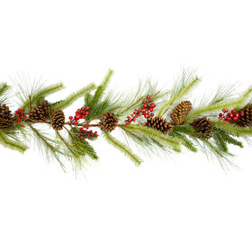 7 Ft. Timber and Pine Garland