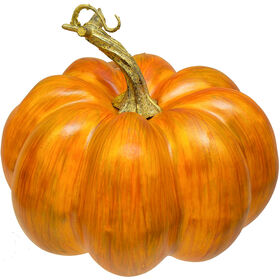 6.25-inch Gold Brushed Pumpkin