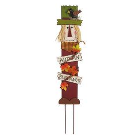 Scarecrow Autumn Stake - 32-inch