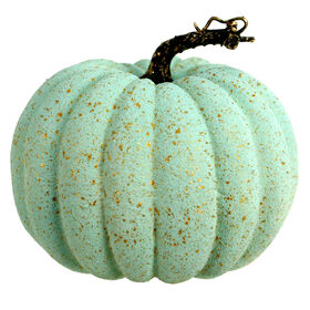 Mint Pumpkin with Gold Specs 7-inch