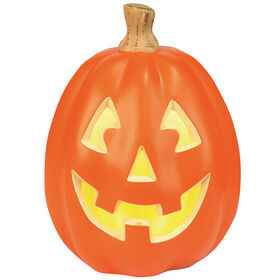 Large Light-Up Pumpkin 9-inch