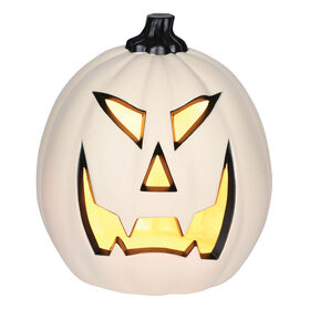 Medium Light-Up Pumpkin 8-inch