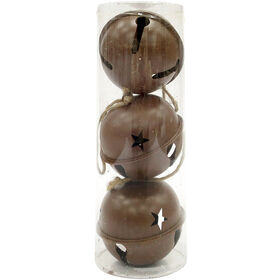 3-Piece Large Brown Bell