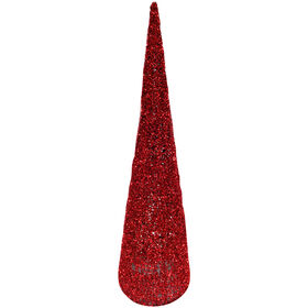 30in Red Glitter Tree
