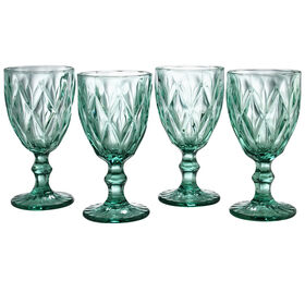 Treasure S4 Turquoise Goblets