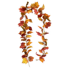 Grape Leaf/Berries Garland