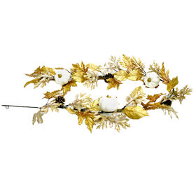 Polyester Oak Leaf Garland
