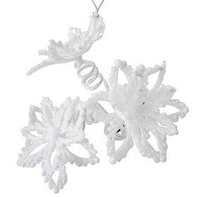 3 Head Poinsettia Clip