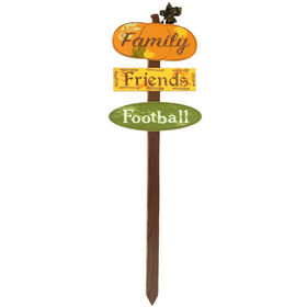 Family Friends Football Stake - 32-inch