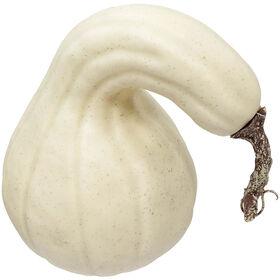 Cream Gourd 6.5 x 6.5 Inch