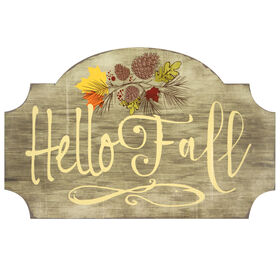 Hello Fall Wall Art