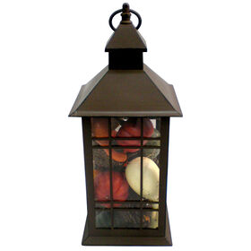 Lantern with Gourds