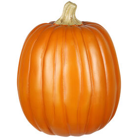 Orange Craft Pumpkin - 12-inch